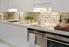 unique ideas for kitchen with brick backsplash modern kitchen decoration using white galley kitchen designed cabinet lighting modern kitchen