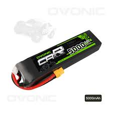 <b>Ovonic</b> 5000mAh 11.1V 3S 50C 3 Cell LiPo Battery <b>Pack</b> with XT60 ...