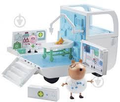 ᐉ Игровой набор <b>Peppa Pig Медицинский центр</b> на колесах ...
