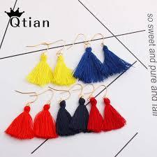 Bohemian Tassel Drop Earrings for <b>Women Female</b> Fashion 15 ...