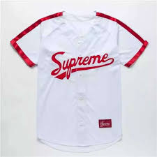 <b>2019</b> Unisex <b>Summer New</b> SUPREME Embroidery <b>V</b>-<b>neck</b> Hip-hop ...
