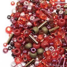 <b>Бисер</b> Микс <b>TOHO №3218</b> красно-бронзовый <b>Японский бисер</b> ...