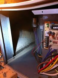 hvac where should my furnace filter go in a lennox g40uhx series i put the filter along the bottom a 14x25x1 fit snug across the whole side bottom if it was standing up i had to fold and bend the filter some to