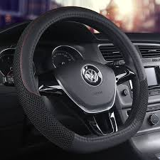 <b>KKYSYELVA D Shape</b> Steering-Wheel Black Auto Car Steering ...