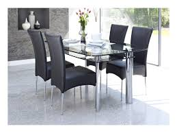 4 chair kitchen table: glass table and chairs table design ideas intended for cheap dining table with  chairs