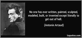 Antonin Artaud Quotes - Inspirations.in
