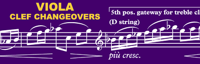 Orchestration Tip: <b>Viola</b> use of <b>treble clef</b> - Orchestration Online