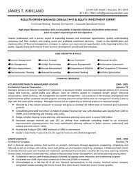 sample consultant resume template sample information for business gallery of consulting resume templates
