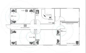 equipment layout window casement wall telephone phone router room building drawing tools design elements office layout