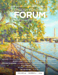 english teaching forum volume number american english