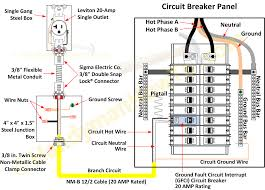 ground fault circuit breaker and electrical outlet wiring diagram explore electrical projects electrical wiring and more