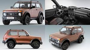 Обновленный внедорожник Lada 4x4 Bronto появится в середине ...