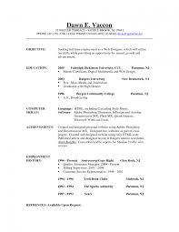 sample resume preschool teacher resume sample objectives for fresh resume examples good objectives for resumes students objective in sample resume objective statements for high school