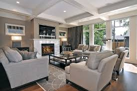 living room inspiration for a transitional living room remodel in calgary with a stone fireplace surround furniture ideas brilliant living room furniture designs living
