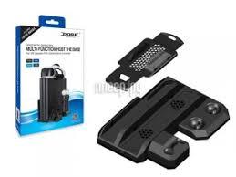 <b>Подставка вертикальная Dobe</b> TP4-888 Black для PS4 Slim/Pro ...