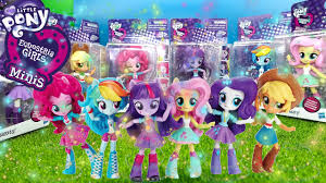 My little pony Equestria Girls мини чиби фигурки Minis Mini Figures ...