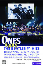 Ones - <b>The Beatles</b> #<b>1</b> Hits | Kingston Grand Theatre