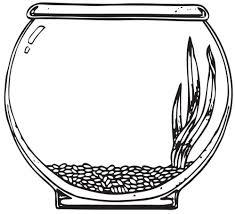 fish bowl coloring page printable goldfish bowl template 7 photos of the fish bowl coloring page printable