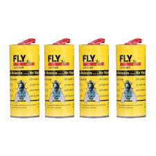 <b>4 Rolls</b>/<b>pack</b> Fly Catcher <b>Insect Bug</b> Fly Killer Glue Paper Trap ...
