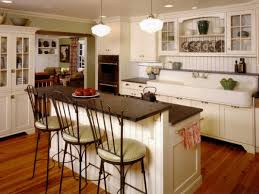 open kitchen design farmhouse:  kitchen farmhouse kitchen design and u shaped kitchen designs by means of placing some decorations for