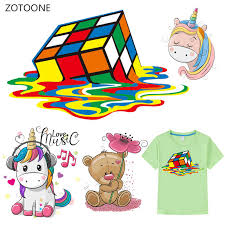 <b>ZOTOONE</b> Cartoon <b>Cute</b> Animals <b>Iron</b> on Transfers for Clothing ...