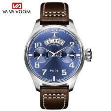 Men's sports and leisure business watch Calendar pilot belt quartz ...