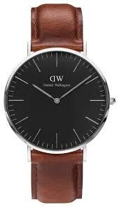 <b>Наручные часы</b> Daniel Wellington Classic Black St. Mawes <b>Silver</b> ...