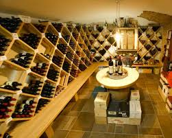 underground home wine cellars rounded arched table top wine cellar furniture