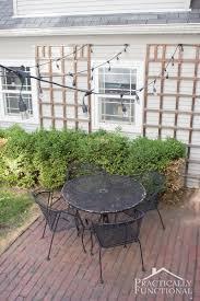 lighting additional outdoor patio chairs add string lights to your patio for additional outdoor lighting