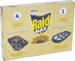 <b>Приманка Raid</b> Max регулятор размножения для <b>тараканов</b> 5шт