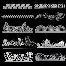 Popular Metals Card Decorations Scrapbooking Diy Stencils-Buy ...