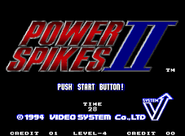Power Spikes II (Mame)