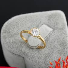 【Welcomehome】<b>Fashion</b> Jewellery 18K Silver Ring Gorgeous ...