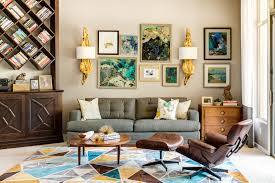 blue living room book shelves styling  country interior style ideas to decorate living room design with anti