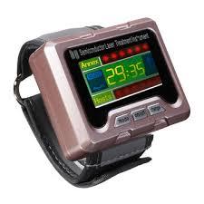 <b>650nm</b> laser therapy wrist apparatus high <b>blood pressure</b> watch ...