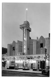 the streamline moderne el miro theatre on 3rd street in santa monica 1931 the art deco box office loew