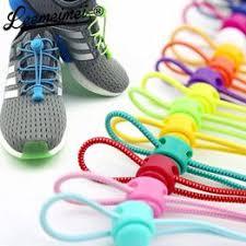 1 Pair No Tie Locking Shoelaces Elastic Unsiex Women Men ... - Vova