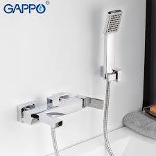 2019 <b>GAPPO Bathtub Faucets</b> Bathroom <b>Chrome</b> Rain Bath Tub ...