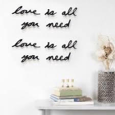 Купить <b>Надпись декоративная Love is</b> all you need в интернет ...