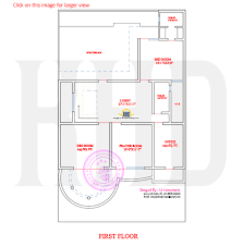 Stylish Indian home design and   floor plan   Kerala home    First floor plan