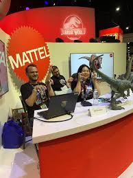 "<b>Jurassic</b> Outpost on Twitter: ""<b>Mattel Jurassic</b> panel starting at ..."