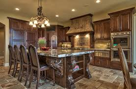cream tuscan kitchen design