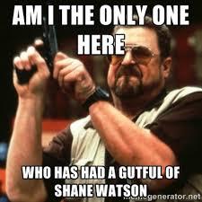 Shane Watson - Page 16 - The Crowd | Fox Sports via Relatably.com