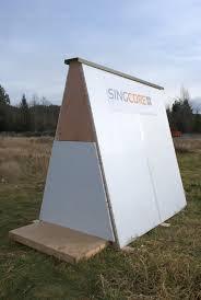 Ice Fishing Shanty   Non warping patented honeycomb panels and    sing ice fishing house shanty minnesota