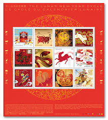 Lunar <b>New Year Cycle</b> | Canada Post
