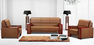 sofas for office three high grade leather sofa combination of modern wood frame parlor leather sofa bedroomfoxy office furniture chairs cape town