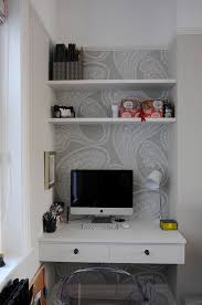 maximized corner nook workspace with built in desk nice use of limited space chi yung office feng