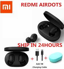 IN STOCK Original Xiaomi Redmi AirDots True <b>Wireless bluetooth</b> ...
