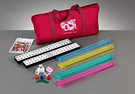 Brand New American Mahjong Set in Burgundy Bag ... - Amazon.com