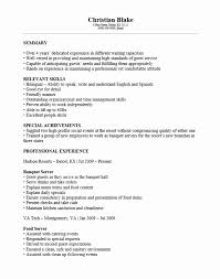 free banquet server resume template sample ms word banquet captain resume
